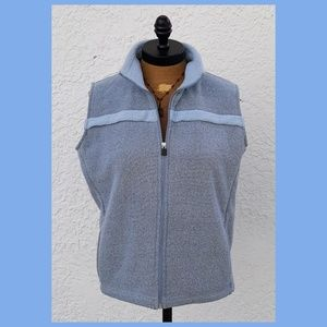 Lee Sport Blue Full Zip Vest